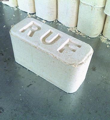 Прямоугольные топливные брикеты из опилок (RUF-брикеты)