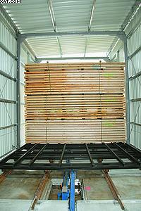 Автоматическая система загрузки тоннельной сушилки фирмы Mühlböck-Vanicek