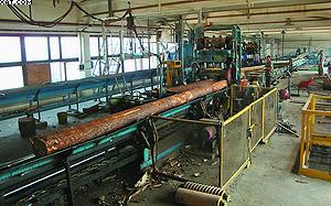 Лесопильная рама – традиционное российское лесопильное оборудование