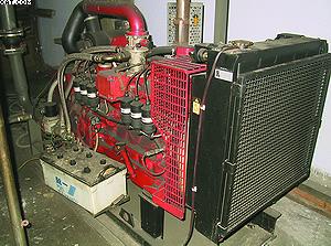 Электрогенератор на генераторном газе