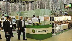 Стенд John Deere