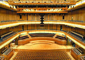 Симфонический зал арт-центра «Сейдж Гейтсхед» (Тайнсайд, Англия)