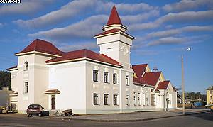 Железнодорожный вокзал на ст. Галич