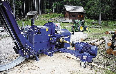 Дровокольный станок РцА 380 с Электроприводом EP 12 (11 кВт)
