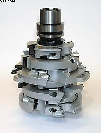 Рис. 1. Набор инструментов для центров с ЧПУ с каркасом из легкого металла