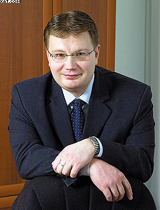 Генеральный директор управляющей компании «Соломбалалес» Иван Бородин
