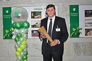 Генеральный директор ООО «ЮПМ-Кюммене Чудово» Анатолий Жуковец