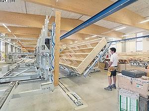 Оборудование Weinmann для производства стеновых панелей