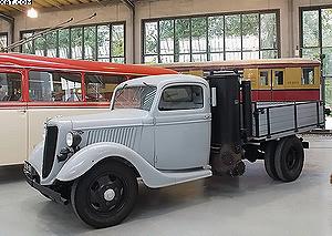Рис. 4. Газогенераторный автомобиль Ford, 1937 год