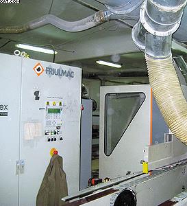 Автоматический торцовочно-фрезерно-сверлильный станок Friulmac Contouramat