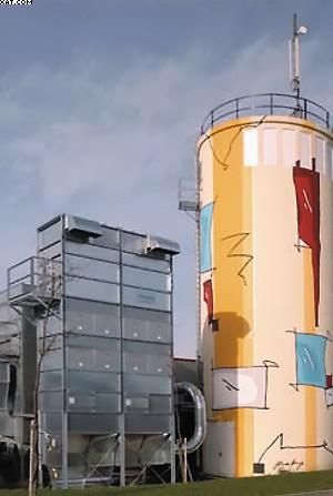 Фильтр MultiStar JQ 12/6 с системой выгрузки отходов в бункер-накопитель