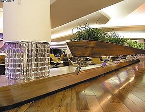 Клуб «Затонувшая гостиная» – зона отдыха в лондонском аэропорту Хитроу