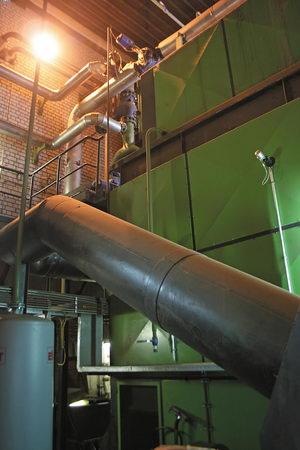 Котельная Urbas, котел 8 МВт