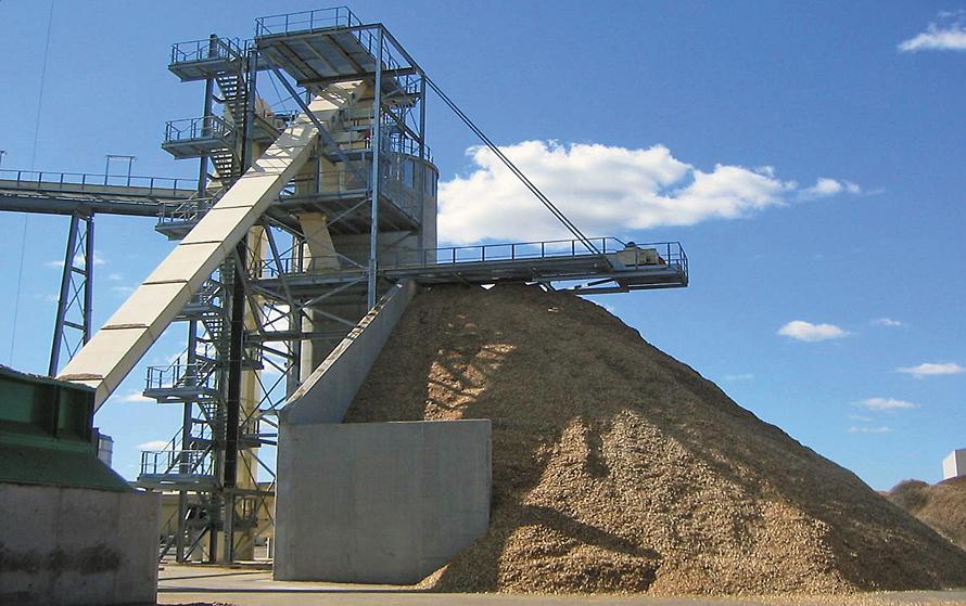 Оборудование для нижнего склада лесоматериалов