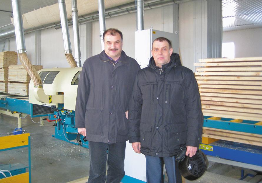 Франц Вальдхубер (Ledinek) и Александр Тратонин («Новичиха лес»)