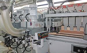 Восьмишпиндельный станок Pade Unize CNC