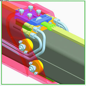 Epscope – запатентованная системас двойной телескопической стрелой с выдвижным цилиндром и защищенной направляющей системой для гидравлических шлангов