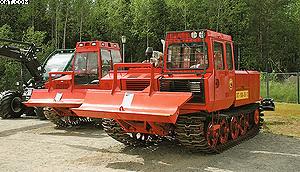 Лесной пожарный трактор «Онежец»