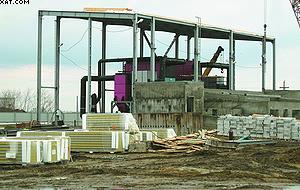 Во время монтажа котельной Polytechnik
