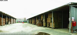 Склад естественной сушки пиломатериалов на «Миассмебель»