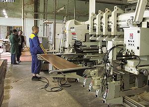 Сверлильный станок с ЧПУ Busellato F-2000 на «Миассмебель»