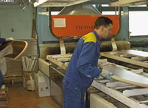 Распылительная линия этажной сушки Cefla Victoria на «Миассмебель»