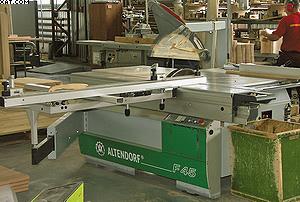 Форматно-раскроечный станок Altendorf F45 на «Миассмебель»