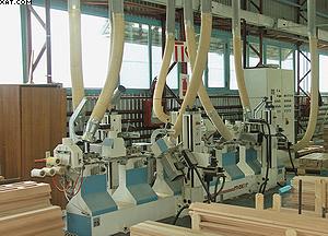 Шлифовальный станок проходного типа Makor на «Миассмебель»