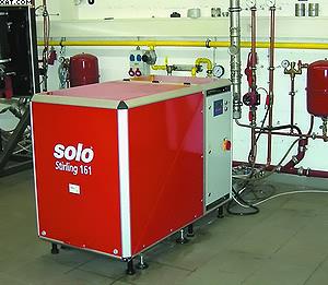 Рис. 1. Энергетические установки с двигателями Стирлинга в административном здании