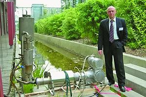 Рис. 3. Энергетическая установка, состоящая из газогенератора и двигателя Стирлинга мощностью 3 кВт