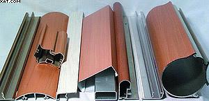 Облицовывание алюминиевых профильных деталей с применением «Йоватерм-Реактант 602.20»