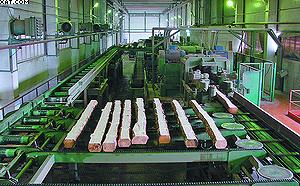Фрезерно-брусующая лесопильная линия SAB