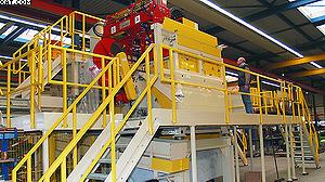 Автоматический высокопроизводительный станок древесной шерсти Eltomatic CVS-16<