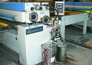 Лакировальный станок BRB-1400