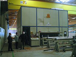 Рис. 1. Хранение пиломатериалов для изготовления ДКК