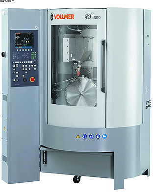 Новый станок CP200 для обработки передней и задней граней твердосплавных зубьев дисковых пил
