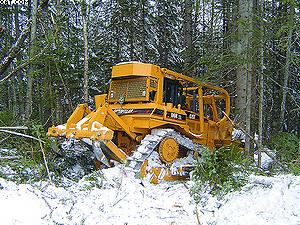Гусеничный трактор (бульдозер) Cat D6R