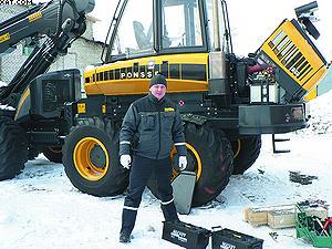 Проверка комплектации и приемка машины на базе заказчика, Сибирь