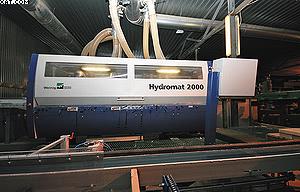 Четырехсторонний строгальный станок Weinig Hydromat 2000