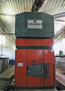 Котельная на биомассе Uniconfort Biotec G250