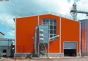 Участок изготовления топливных гранул (пеллет)