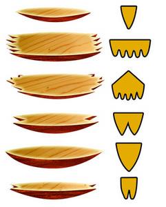 Размеры пробок-«лодочек»