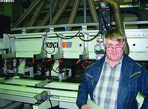Чуткие датчики автоматизированной системы пожаротушения Firefly (Швеция) надежно защищают все производство плит MDF