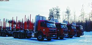 Лесовозы Volvo