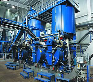 Линия гранулирования на ЛПК «Аркаим». Производительность – 20 тонн пеллет в час