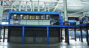 Четырехсторонний строгальный станок Weinig Powermat 2500 на ЛПК «Аркаим»