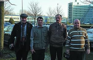 Делегация Тамбовского государственного технического университета на переговорах о приобретении технологии торрефикации с компанией Energy Valley в Гронингене (Нидерланды). Январь 2012 года