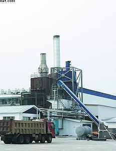 Участок измельчения сырья для производства пеллет на ЛПК «Аркаим»