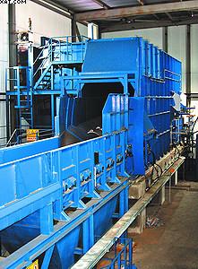 Окорочный станок пеллетного производства на ЛПК «Аркаим»