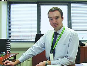 Руководитель группы технической поддержки клиентов Nokian Tyres в России Александр Пархомчук
